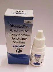 Olopatadine Ketorolac Tromethamine Ophthelmic Solution