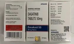 Dasakast 50 Mg (Dasatinib) Tablets