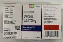 Dasakast 70 Mg Tablet (Dasatinib)