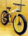 Yellow BMW X6 Fat Tyre Foldable Cycle