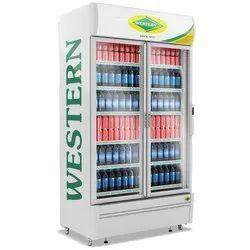 Western SRC1100-GL Double Door Visi Cooler