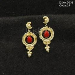 Traditional Chandbali Earrings
