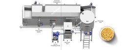 Continuous Namkeen Fryer With Heat Exchanger