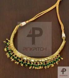 Designer Hasli Artificial Necklace, Wedding