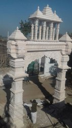 Temple Stone Entrance Gate Construction Service