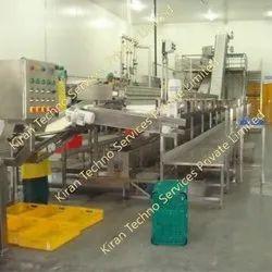 Automatic MANGO PULP PROCESSING PLANT, 1 Ton To 500 Ton Per Hour