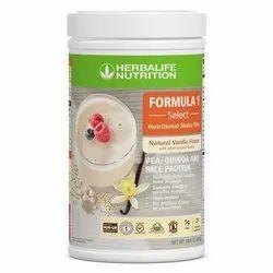 Formula 1 Select: Natural Vanilla flavor