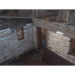 Concrete Frame Structures Earthbag and Mud House Construction Service, India