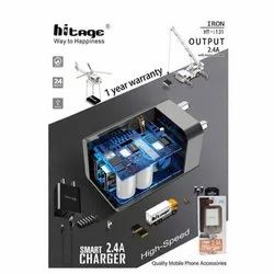 Hitage Black HT-i131 Smart High Speed Charger