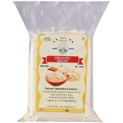 500 gm Organic Besan, Powder