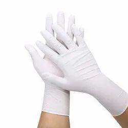 White Nitrile Gloves