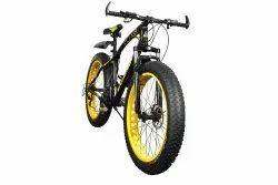 Sanxingcn Black Yellow Jaguar Fat Tyre Cycle