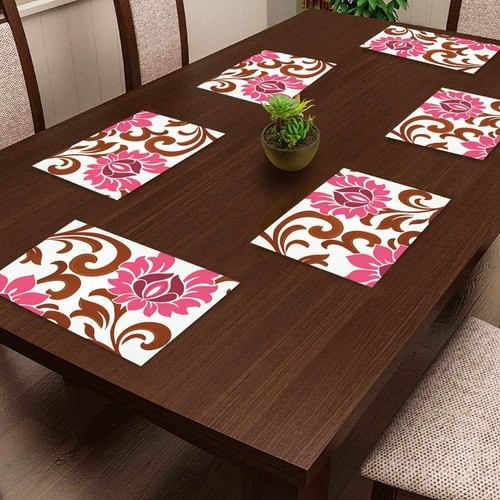 Multicolor Old Decor Pvc Placemats Mat For Dining Table Kitchen Size 12 Inch 18 Inch Rs 50 Set Id 22782266688
