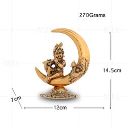Gold Plated Chaand Krishna