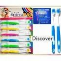 Plastic Enova Discover Toothbrush, For Cleaning Teeth, Packaging Size: 12 Per Sheet