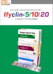 Ifyclin 5 Tablet Cilnidipine 5mg