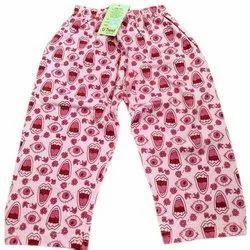 Kids Casual Wear Printed Full Pant
