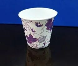 Available in various patterns Disposable Paper Cups, Capacity: 85 ML, Packet Size: 40 Pieces Per Packet
