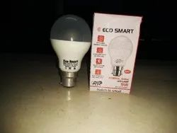 Plastic Round ECO Smart LED Bulb 9 W DOB, Base Type: B22, Thickness: 1-2 Mm