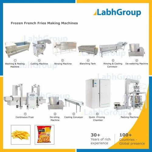 IQF Frozen French Fries Making Machines