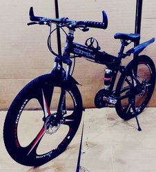 Black Bmw Foldable Cycle