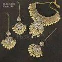 Designer Traditional Wedding Choker Necklace Set