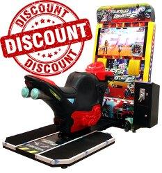 Super Bike 2 Arcade Game Machine - Economic Model 32