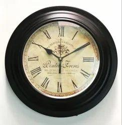 Tora Wooden Antique Wall Clock