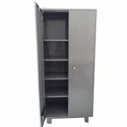 6.5 Feet Mild Steel Office Storewell Cupboard, No. Of Doors: 2 Door, No. Of Shelves: 4 Shelves
