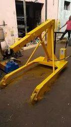 Hydraulic Zip Crane