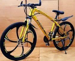 Jaguar Frame Golden MTB Cycle