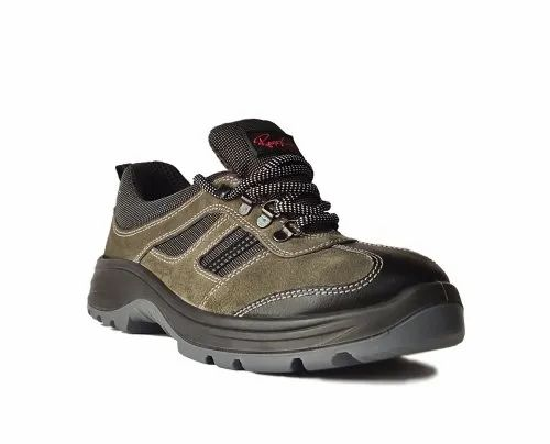 Olive Sporty Safety Footwear