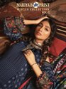 Shree Fabs Maria B M Print Winter Vol - 2 Pashmina With Embroidery Work Dress Material Catalog