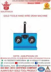 GOLD TOOL Hand Operated Jewellery Wire Drawing Machine