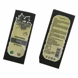 Hair Oil Bottle Label Printing Services, in Pan India