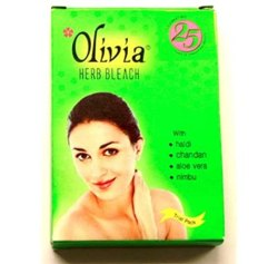 Herbal Olivia Herb Bleach, For Personal, Packaging Size: 450 Gm