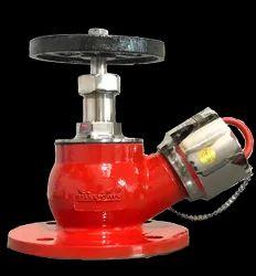 Stainless Steel Red Manxpower Single Head Landing Valve, For Multipurpose, Size: 63mm
