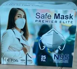Reusable N 95 Mask, Certification: Iso,Fda, Number of Layers: 5 Layers