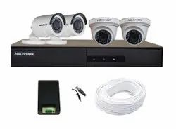 Hikvision Analog Camera CCTV System, For Indoor and Outdoor, 15 to 20 m