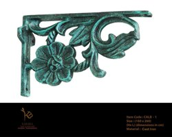 Antique Victorian Cast Iron L Bracket