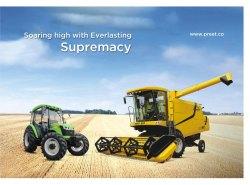 Preet Rice Harvester Machine, Model Name/Number: 987