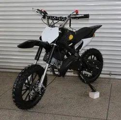 Black 50cc Super Kids Dirt Bike