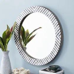 CII-873 MDF Resin Wall Mirror