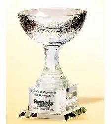 CG 159 Super Cup Crystal Trophy