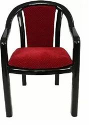 Red Plastic Supreme Ornate Chair, For Office