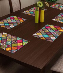OLD DECOR Printed Pvc Placemats
