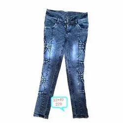 Regular Ultra Low Rise Karan Ladies Jeans, Waist Size: 32x40