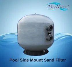 Pool Side Mount Sand Filter