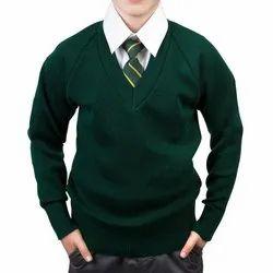 Value Box Close Boy's & Girl's Wool V-Neck Sweater