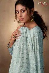 Karma Trendz Banarasi Jacquard With Sequence Work Dupatta Salwar Suit Catalog